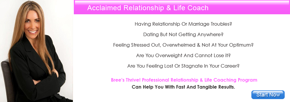 Professional Relationship & Life Coach Bree