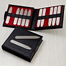 twelve stainless steel collar stays